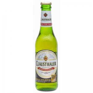 Клаусталер безалкогольное пиво 0,33 л.