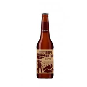 Крафтовое пиво тёмное Портер 0,5 л.